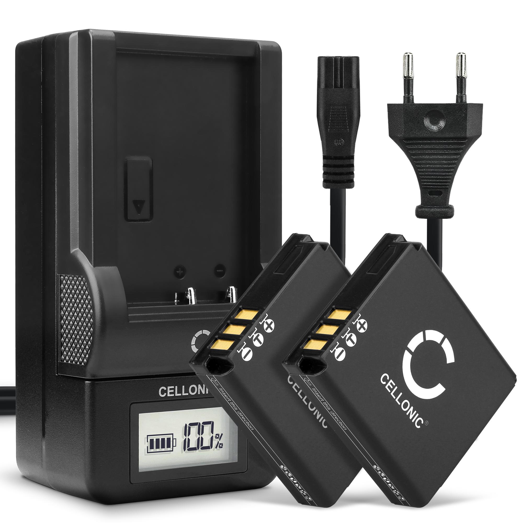 Panasonic de-a12 cargadores dmw-bcc12 batería dmc-lx3 lx1 lx2 fx8 fx9 fx100 fx150